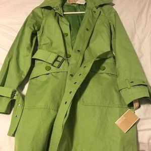 michael kors petite lime green jacket